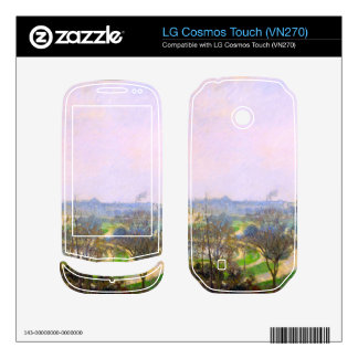 The Tuileries Garden by Camille Pissarro Skins For LG Cosmos Touch
