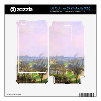 The Tuileries Garden by Camille Pissarro Skin For LG Optimus 2X
