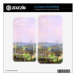 The Tuileries Garden by Camille Pissarro Skin For The LG Arena 3G