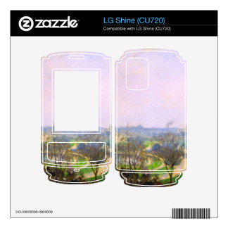 The Tuileries Garden by Camille Pissarro Skin For The LG Shine