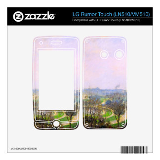 The Tuileries Garden by Camille Pissarro Decals For LG Rumor Touch