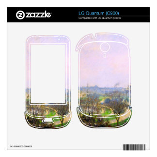 The Tuileries Garden by Camille Pissarro Skins For LG Quantum