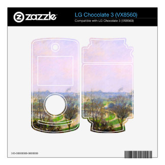 The Tuileries Garden by Camille Pissarro Skins For LG Chocolate 3