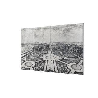 The Tuileries Garden Canvas Print