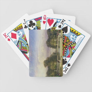 The Tuileries Gardens, with the Arc de Triomphe in Bicycle Playing Cards