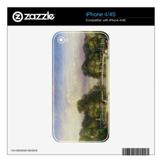 The Tuileries Gardens, with the Arc de Triomphe in iPhone 4S Decal