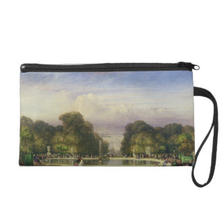 The Tuileries Gardens, with the Arc de Triomphe in Wristlet Purse
