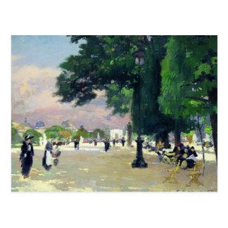 The Tuileries Postcard