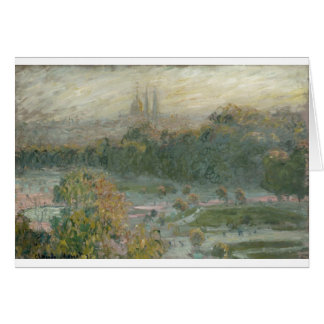 The Tuileries. Study (1876) Card