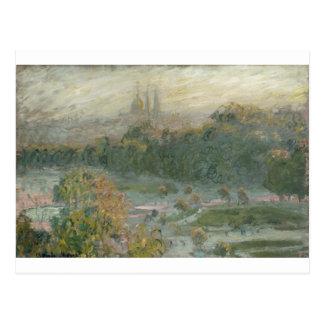 The Tuileries. Study (1876) Postcard