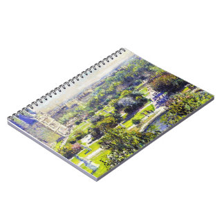 The Tuileries study  Claude Monet Notebook