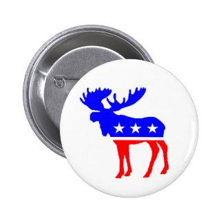 The Tuke Party Moose Button