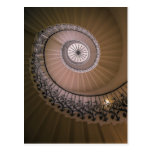 The Tulip Staircase, Queen's House at Greenwich Postcard