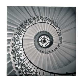 The Tulip Staircase, Queen's House Greenwich Tile