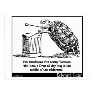 The Tumultuous Tom-tommy Tortoise Postcard