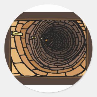 The Tunnel Classic Round Sticker