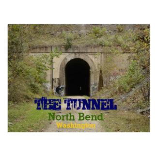 The Tunnel North Bend Washington Postcards