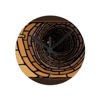 The Tunnel Round Clock