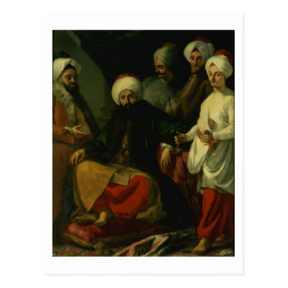 The Turkish Ambassador and his Entourage at the Co Postcard