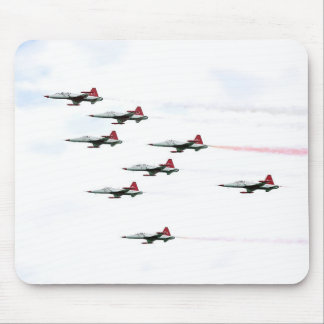 The Turkish Stars Aerobatic Team Mouse Pad