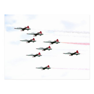 The Turkish Stars Aerobatic Team Postcard