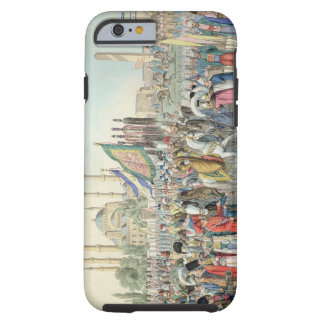 The Turkish Sultan reviewing his Janissaries (engr Tough iPhone 6 Case