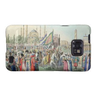 The Turkish Sultan reviewing his Janissaries engr Samsung Galaxy SII Case