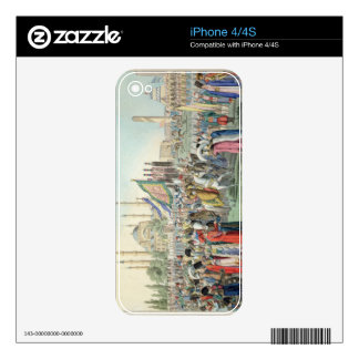 The Turkish Sultan reviewing his Janissaries (engr iPhone 4S Skins