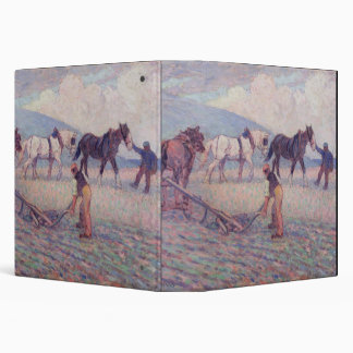 The Turn-Rice Plough, c.1909 (oil on canvas) 3 Ring Binders