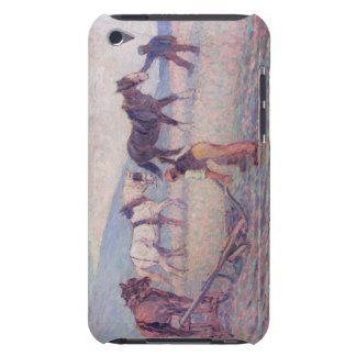 The Turn-Rice Plough, c.1909 (oil on canvas) iPod Case-Mate Case