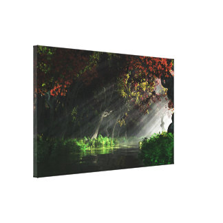 The Turning Canvas Print