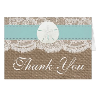 Invitation_Republic The Turquoise Sand Dollar Beach Wedding Collection Card
