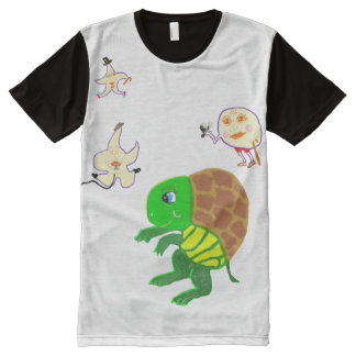 The Turtle Moon Hip Hop Dance All-Over Print T-shirt