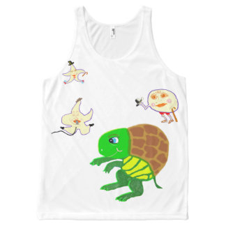 The Turtle Moon Hip Hop Dance All-Over Print Tank Top