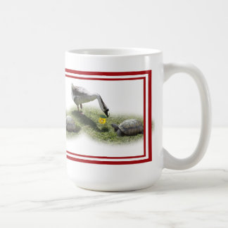 The Turtle & The Goose (Add Your Text) Coffee Mug