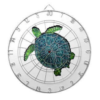 THE TURTLE VIEW DARTBOARD WITH DARTS