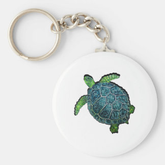 THE TURTLE VIEW KEYCHAIN