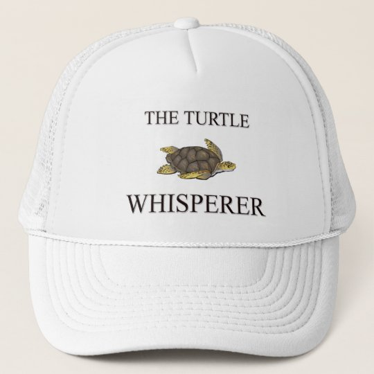 The Turtle Whisperer Trucker Hat