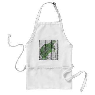 The Turtle with the cain Adult Apron