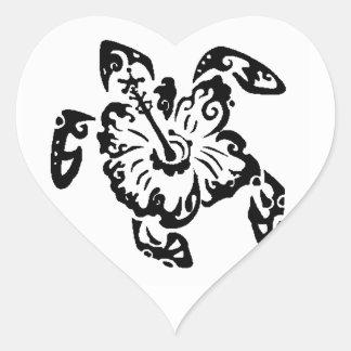 THE TURTLES SHADOW HEART STICKER