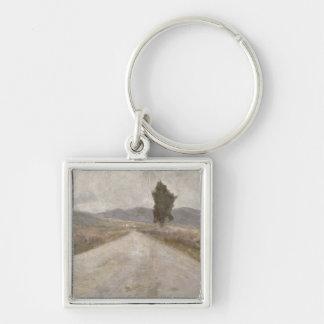 The Tuscan Road, c.1899 (board) Key Chain