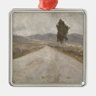 The Tuscan Road, c.1899 (board) Metal Ornament