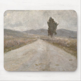 The Tuscan Road, c.1899 (board) Mouse Pad