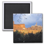 The Tuscan village of Sienna, Italy. Refrigerator Magnets