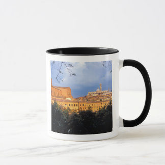 The Tuscan village of Sienna, Italy. Mug