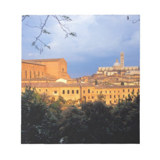 The Tuscan village of Sienna, Italy. Scratch Pad