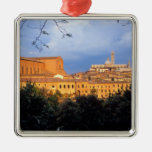 The Tuscan village of Sienna, Italy. Christmas Ornaments
