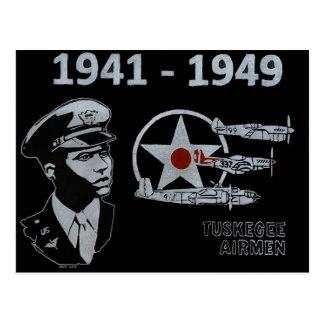 The Tuskegee Airmen Postcard