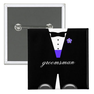 The Tux* ~ MAKE IT ANY NAME, ANY COLOR!* Button