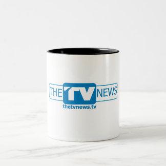 The TV News Coffee Mug